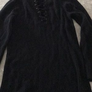 Express sweater 3/4 inch sleeves.